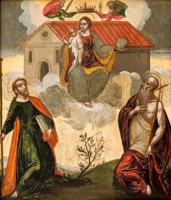 Rare depiction of the mother of God of Loreto - photo 1