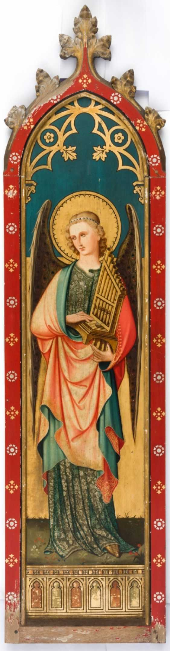 Two monumental panels with angels - photo 4