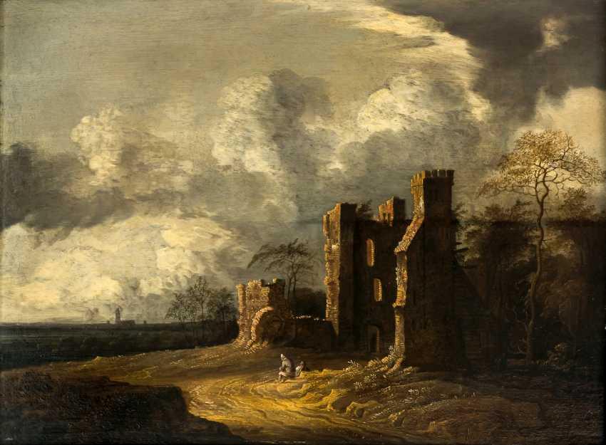 Atmospheric Dutch ruins-landscape - photo 1