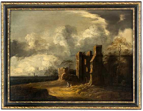 Atmospheric Dutch ruins-landscape - photo 2