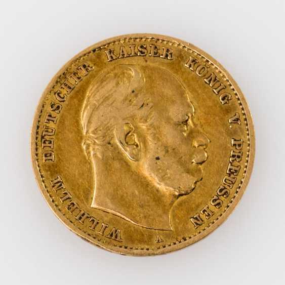 Preussen/GOLD - 10 Mark 1875 A, - photo 1