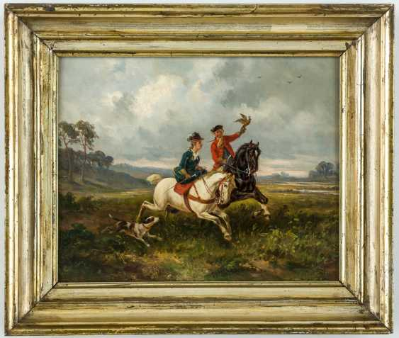 Falkner with Rider in side-saddle - photo 2