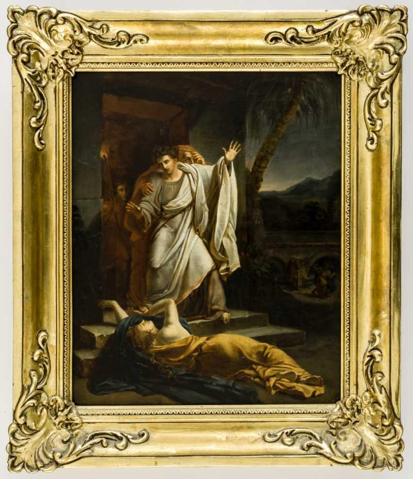 Mythological or old Testament scene - photo 1