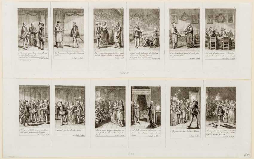 12 sheets Chenier's massacre of St. Bartholomew - photo 1