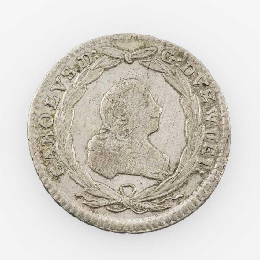 Württemberg 10 Kreuzer 1764, Karl Eugen, - photo 1