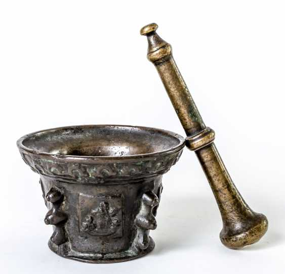 Spanish or French mortar with pestle - photo 1