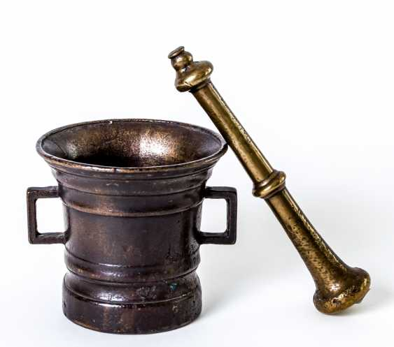 German mortar with pestle - photo 1