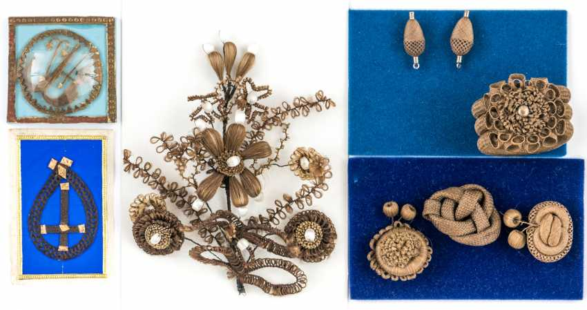 Vintage Hair Jewelry - - - photo 1