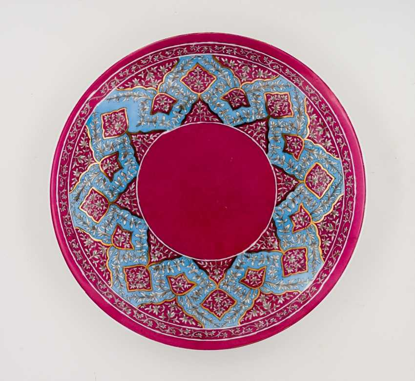 Oriental patterned plate - photo 1