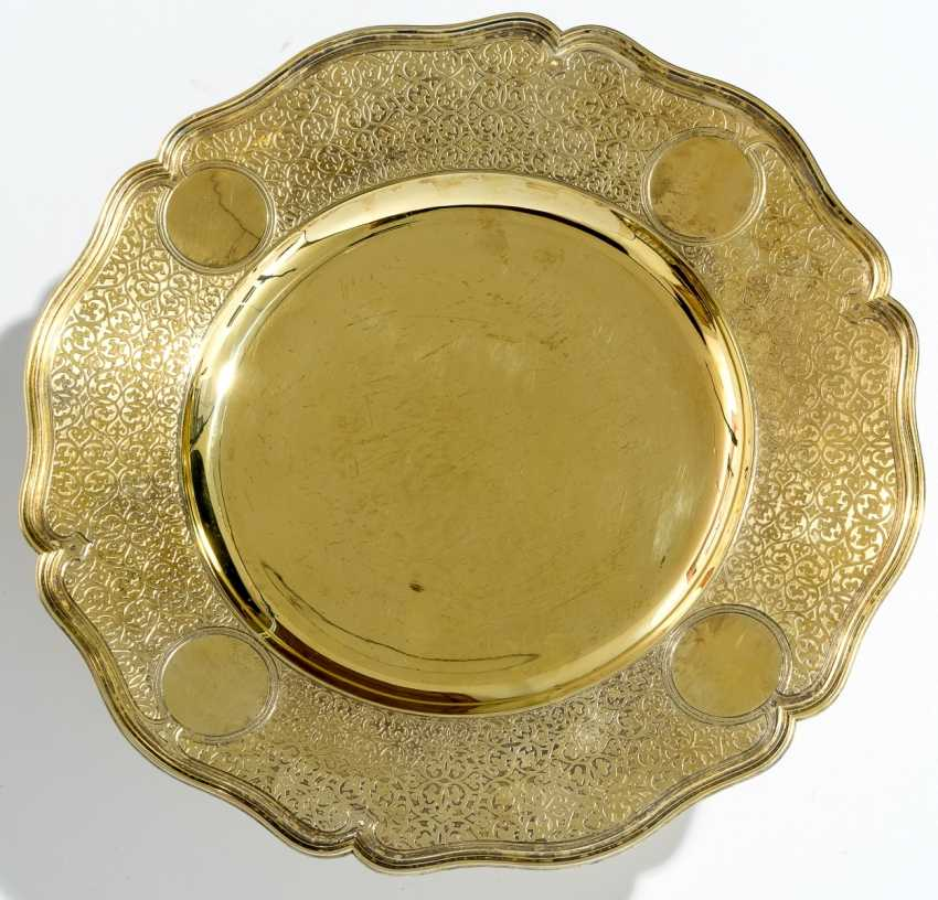 Magnificent silver plate - photo 1