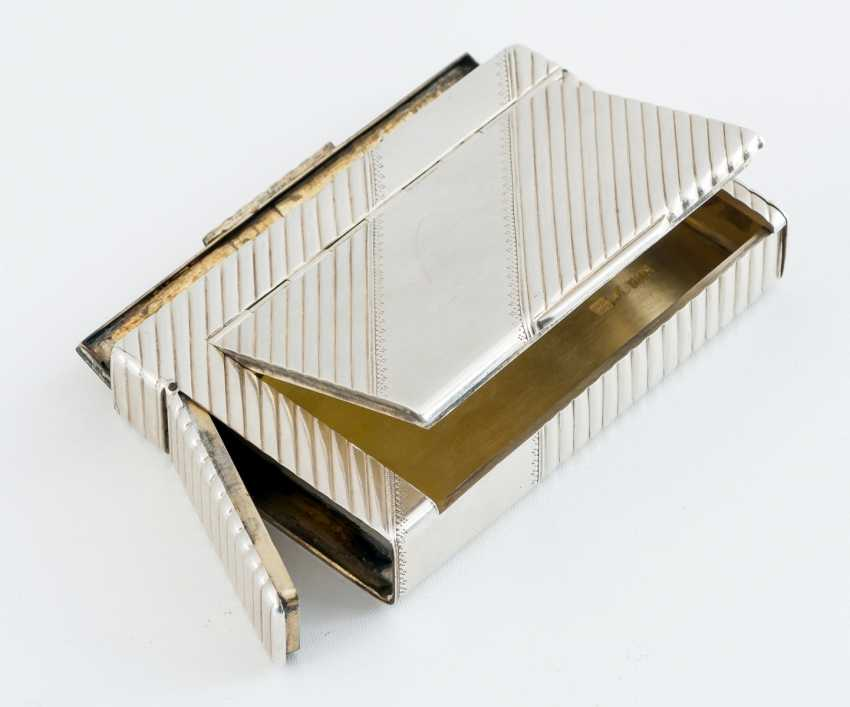 Silver Cigarette Case - photo 1