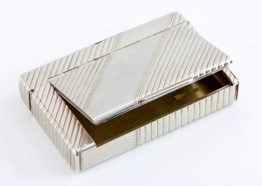 Silver Cigarette Case - photo 2