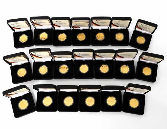 BRD/GOLD - Toplos mit 20 x 100 Euro in Gold, - photo 1
