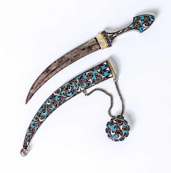 Small enameled dagger - photo 3