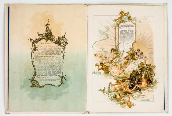 Rare program book for the Gala on the occasion of the coronation of Nicholas II. - photo 2