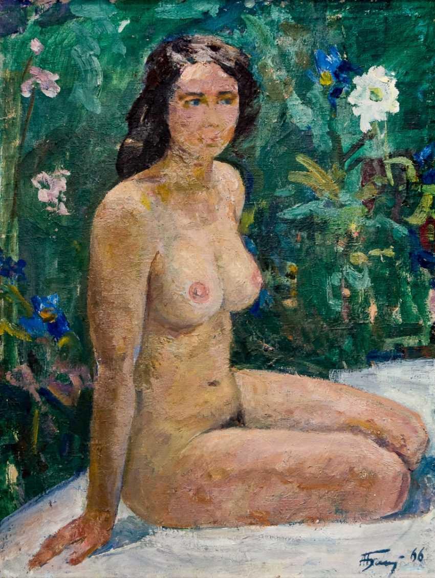 Seated Nude - photo 1