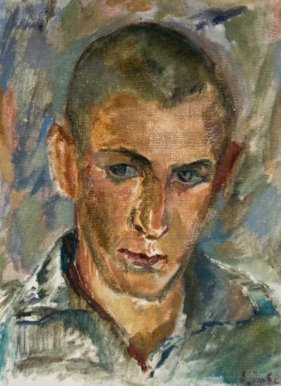 Self-portrait of the artist Leonid Ogibenin (1908-1989) - photo 1