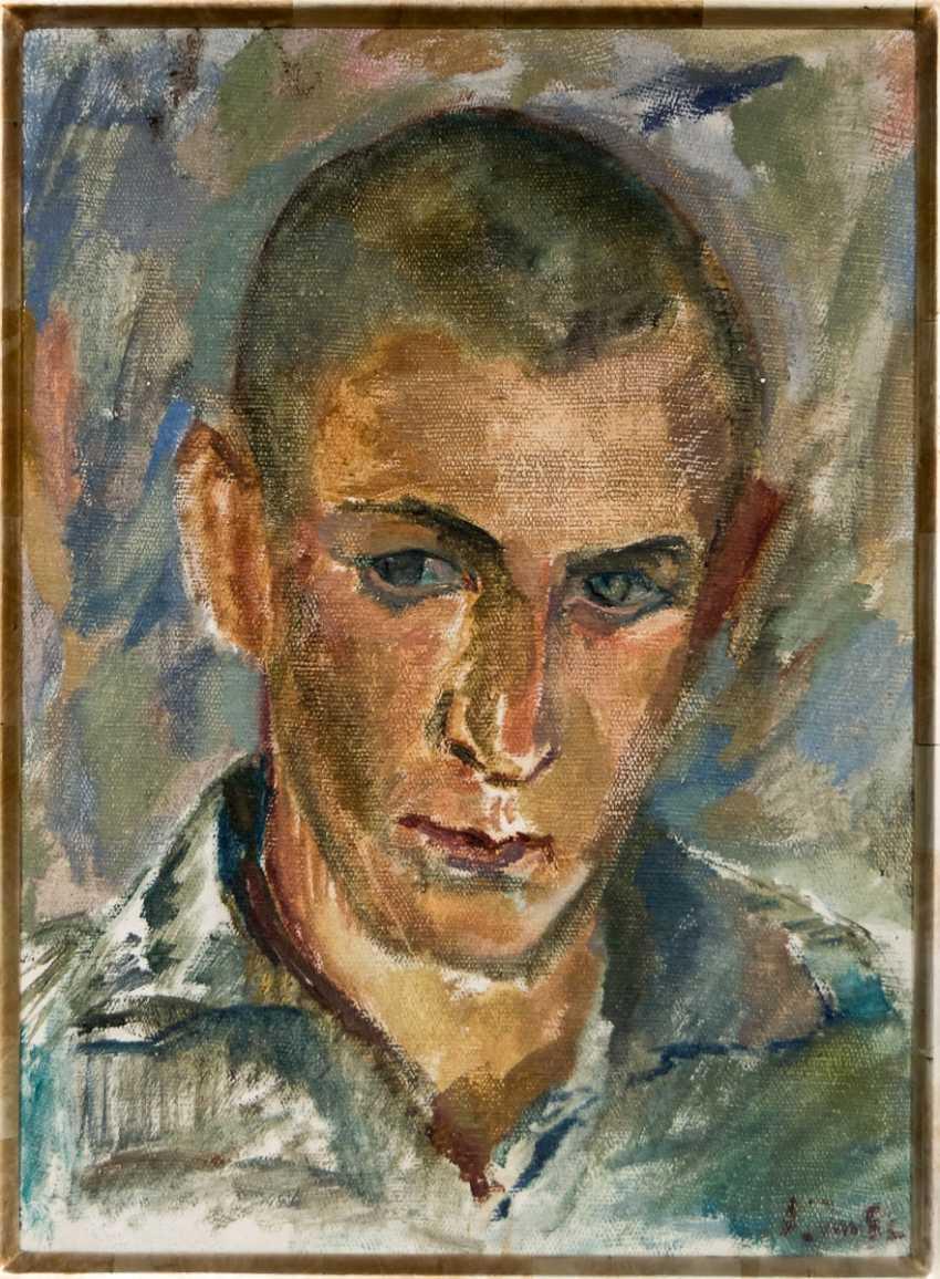 Self-portrait of the artist Leonid Ogibenin (1908-1989) - photo 2