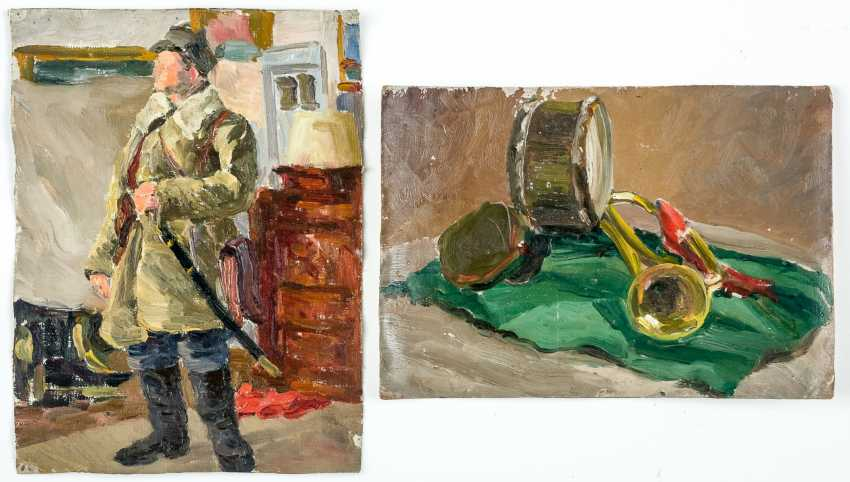 Soldier and still life - photo 1