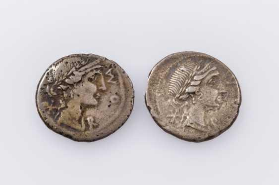 Rom, Republik - 114/113 v. Chr., 2 Denare, - photo 1