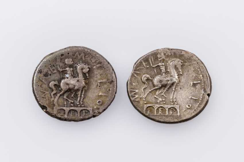 Rom, Republik - 114/113 v. Chr., 2 Denare, - photo 2