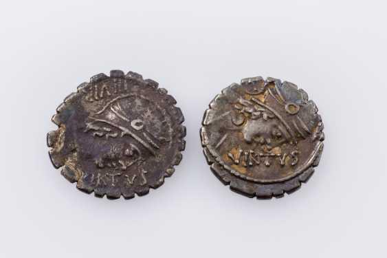 Rom, Republik - 71. v. Chr., Denar - photo 2
