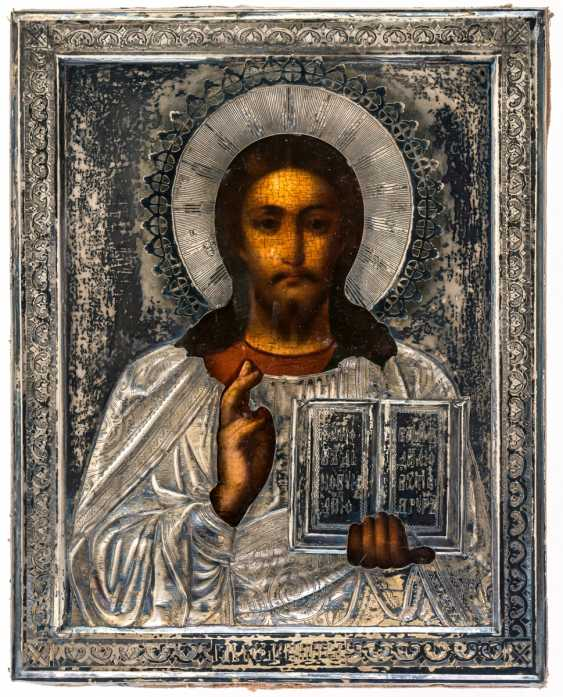 Icon of Christ Pantocrator - photo 1