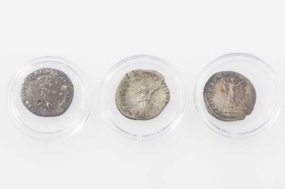 Roman Empire 98-117 BC, 3 of Trajan denarii, - photo 2