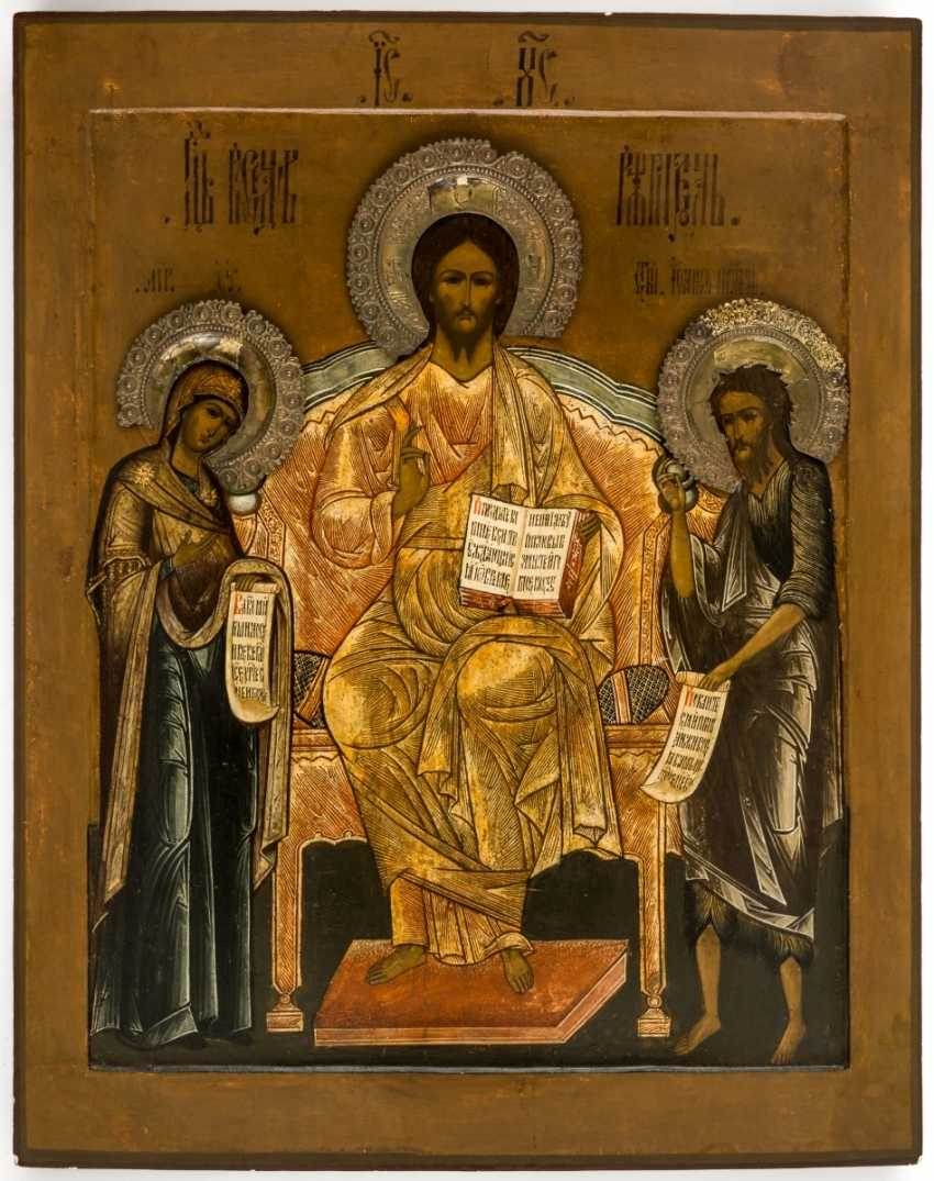 A monumental icon of the Deesis - photo 1