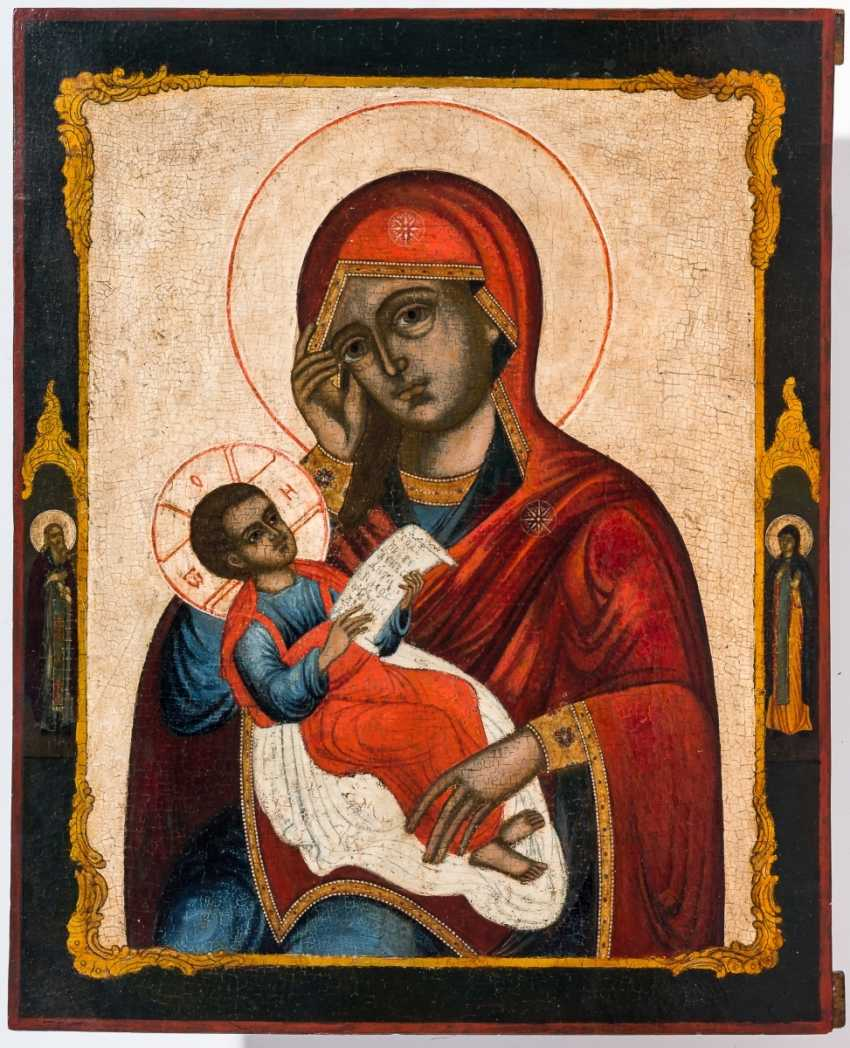 """A big icon of the mother of God """"soothe my sorrows"""" - photo 1"""