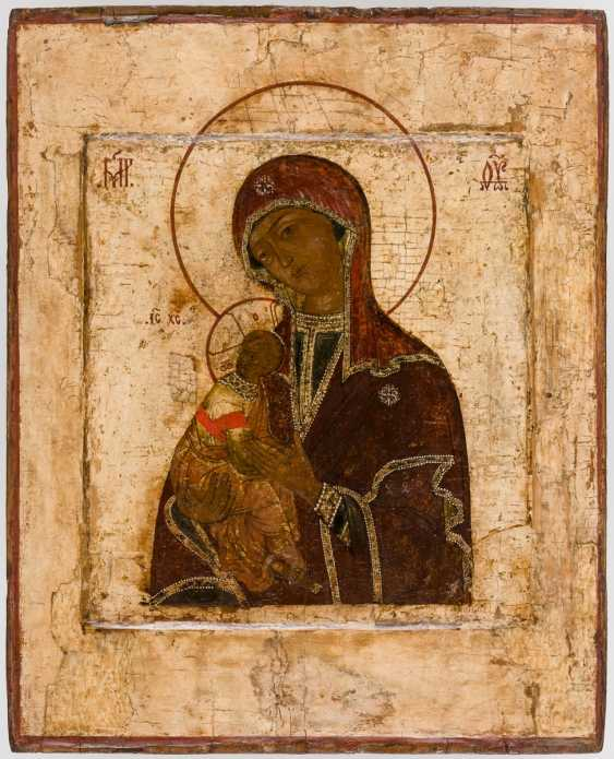 A big icon of the mother of God of the Passion - photo 1
