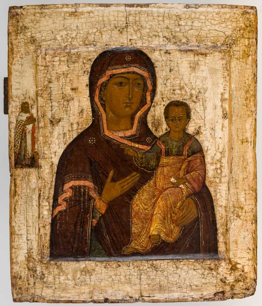 Icon of the mother of God of Smolensk - photo 1