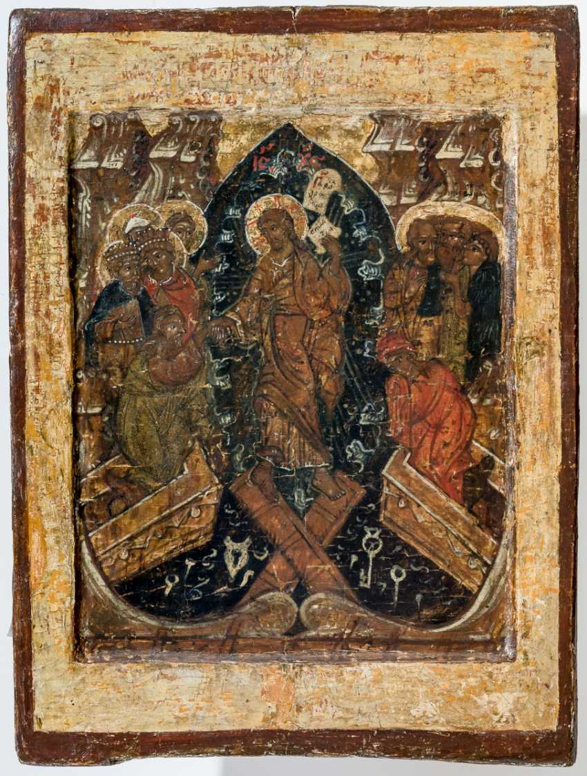 Double-sided icon of the mother of God of Smolensk and Anastasis - photo 2