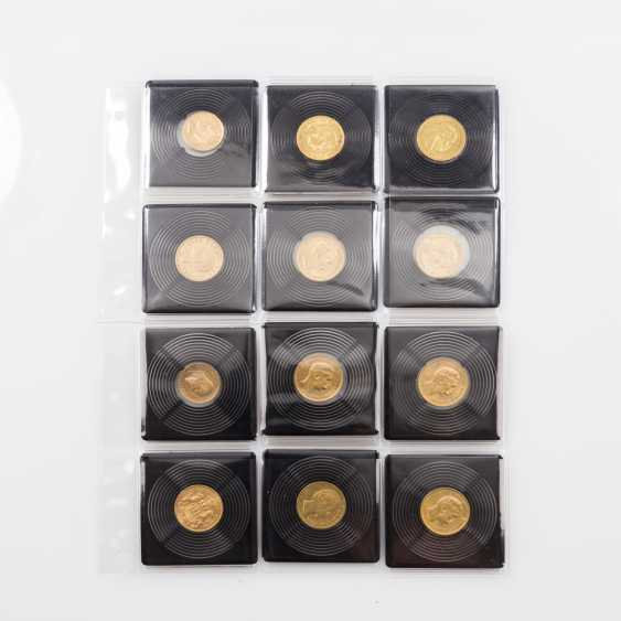Empire/GOLD - Lot with 10 x 20 gold marks and 2 x 10 Goldmark, - photo 1