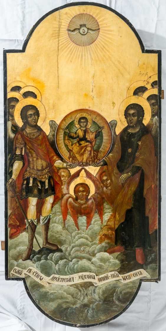 A monumental icon of the Synaxis in honor of the Archangel Michael - photo 1