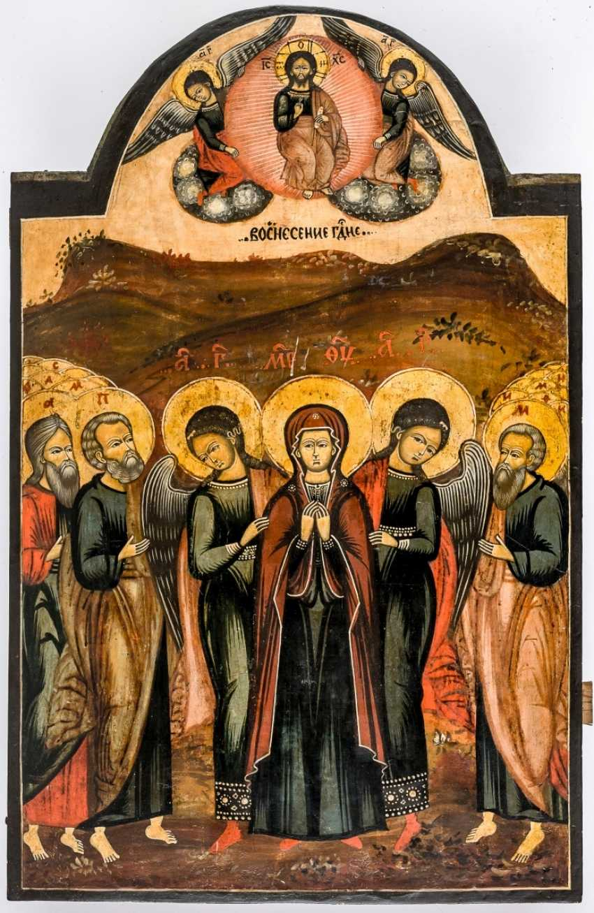 Very large icon of the ascension of Christ - photo 1