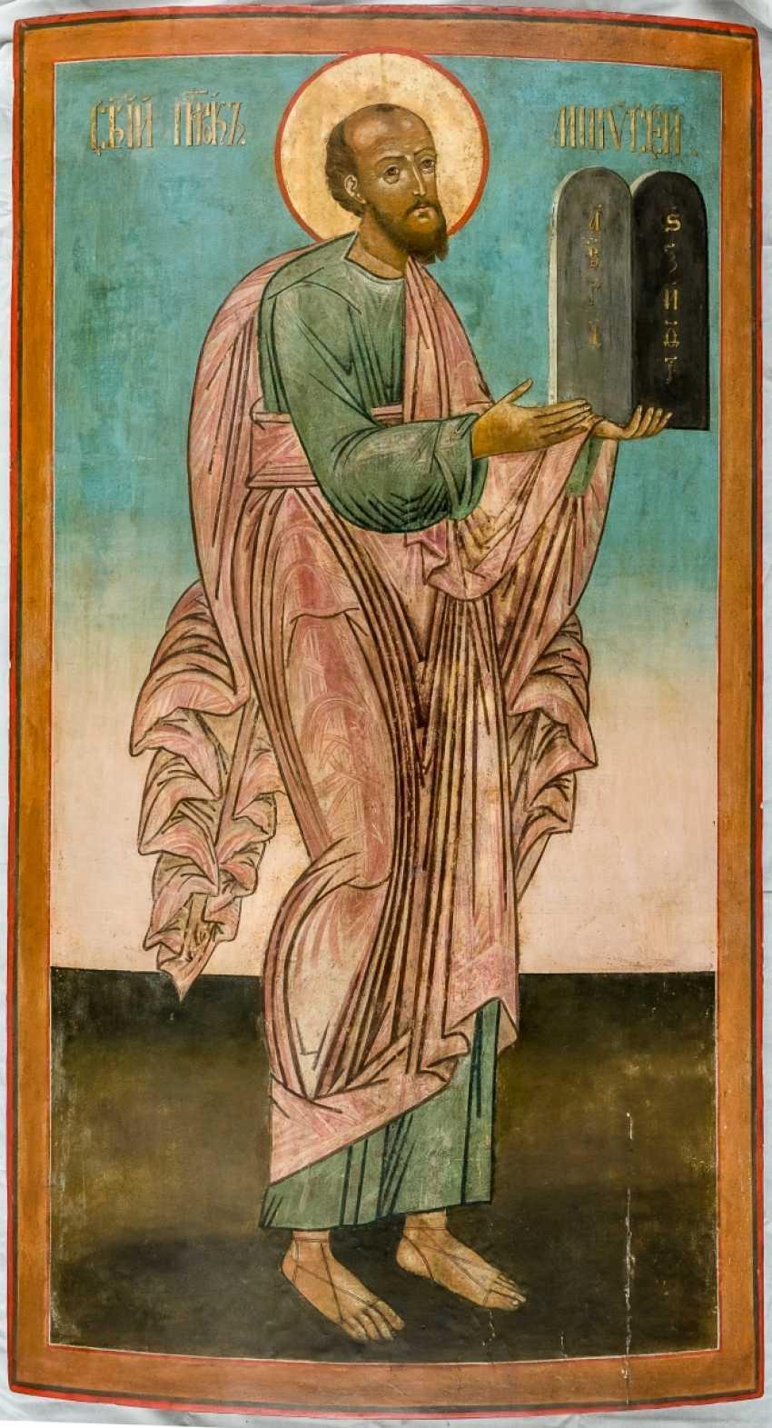 Monumental Icône de Moïse avec les tables de la loi - photo 1
