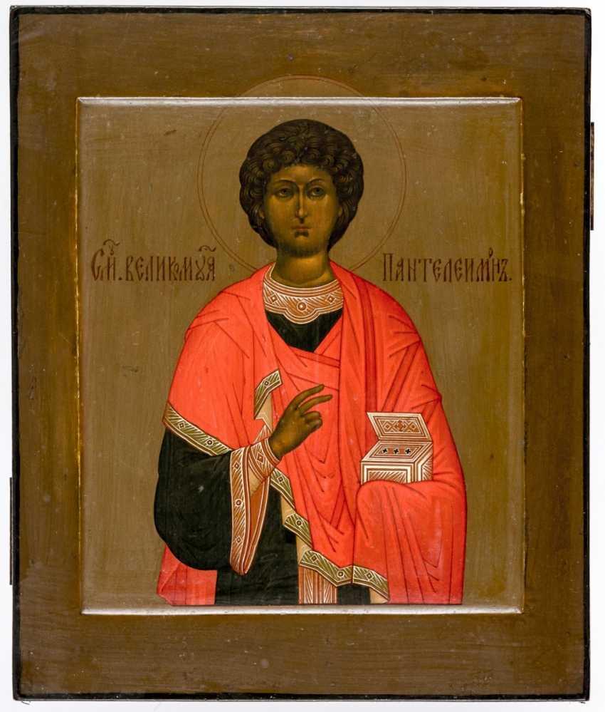 Icon of St. Panteleimon - photo 1