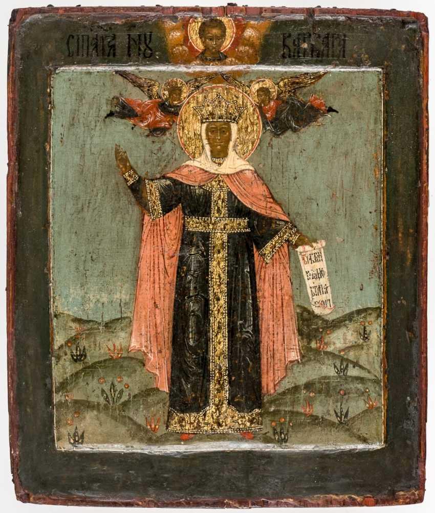 Icon of St. Barbara - photo 1