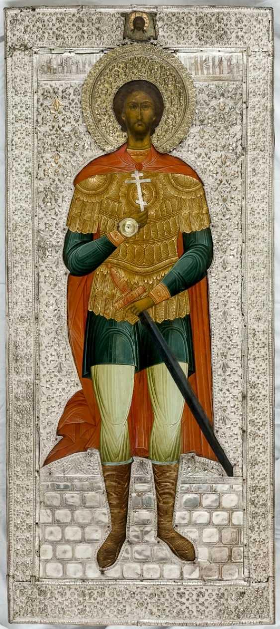 A monumental icon of St. Nikita the perimeter of Tsarskoe Selo and of the icon painter, Emelianov - photo 1