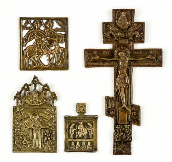 Collection Of Bronze Icons - photo 1