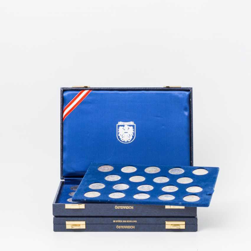 Austria - 2 boxes of 35 x 500 shilling - photo 1
