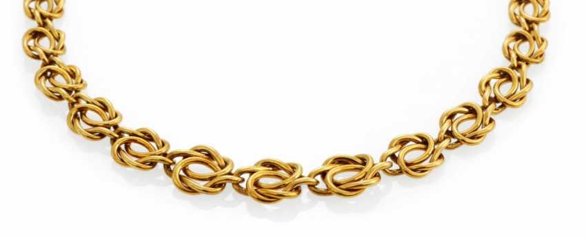 Gold-Collier - photo 1