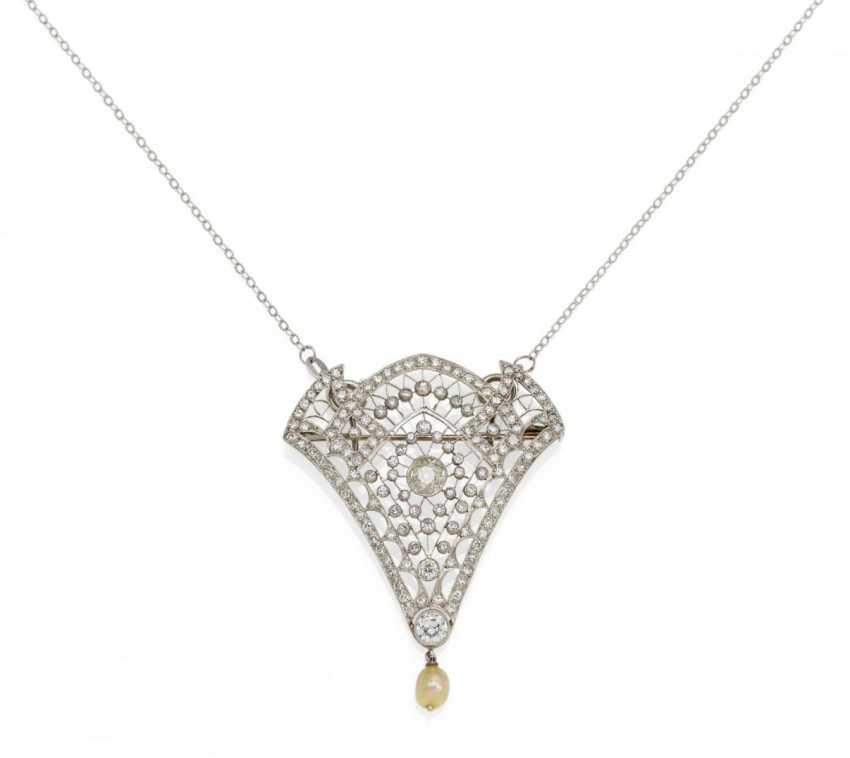 Diamond Pendant Chain - photo 1