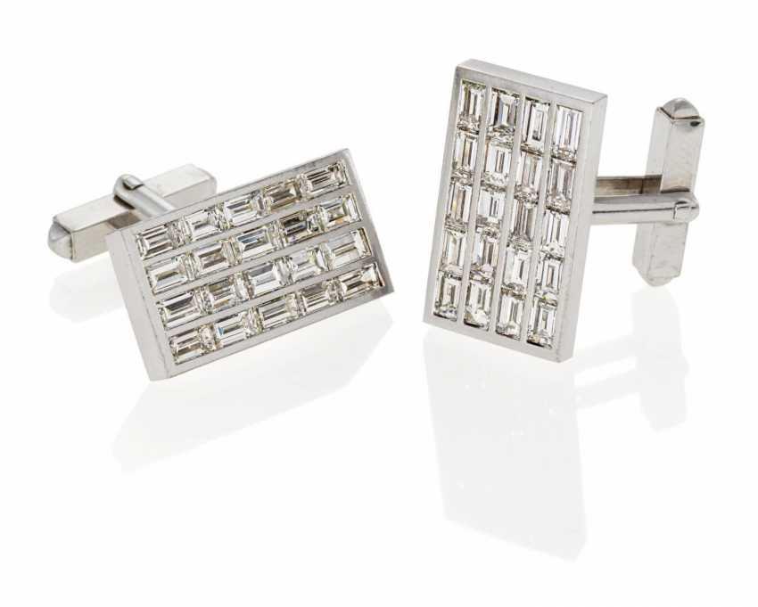 Diamond Cufflinks - photo 1