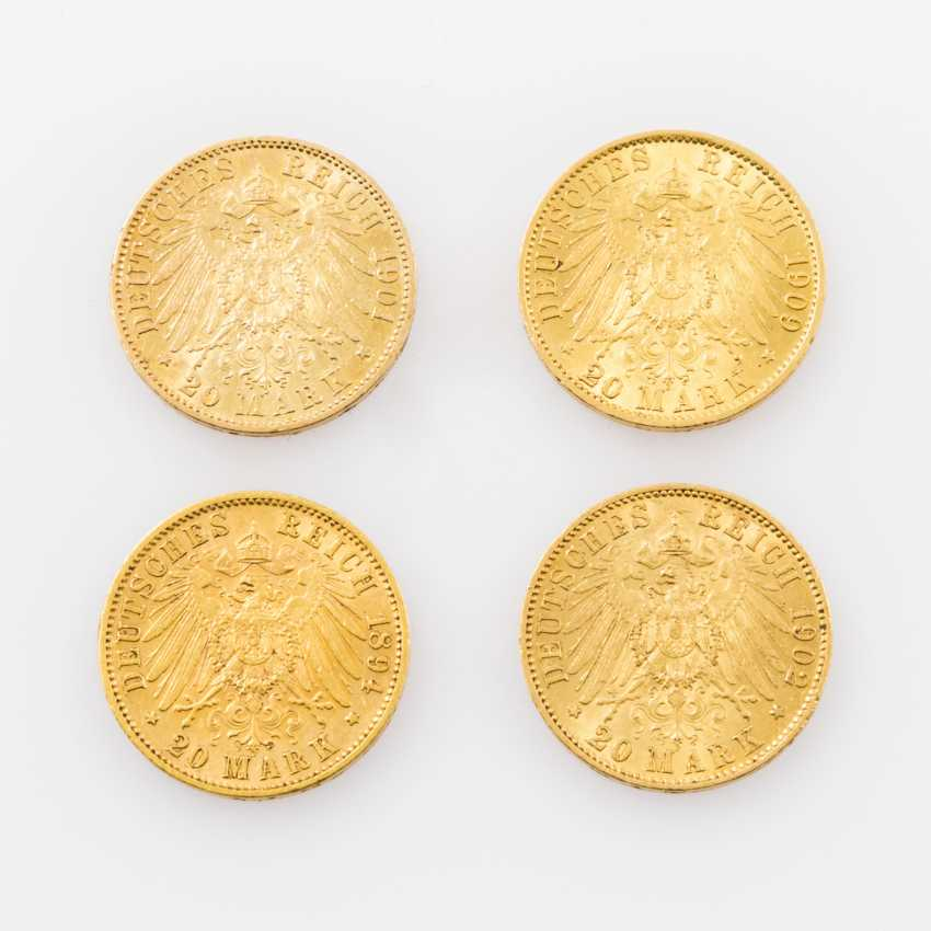 Beautiful 4-piece collection Dt. Empire/Gold - consisting of - photo 2