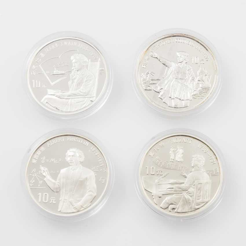 VR China - 1991, 4 x 10 Yuan, - photo 1
