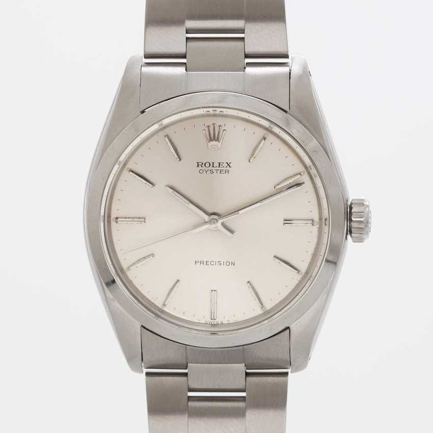"""ROLEX men's watch """"Oyster Precision"""", CA. 1966, stainless steel, Ref. 6426. - photo 2"""