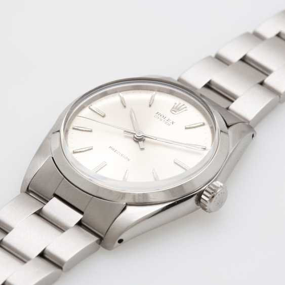 """ROLEX men's watch """"Oyster Precision"""", CA. 1966, stainless steel, Ref. 6426. - photo 5"""