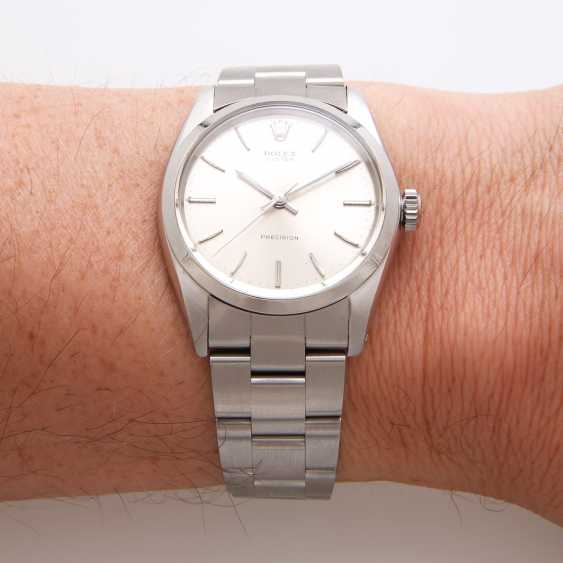 """ROLEX men's watch """"Oyster Precision"""", CA. 1966, stainless steel, Ref. 6426. - photo 7"""